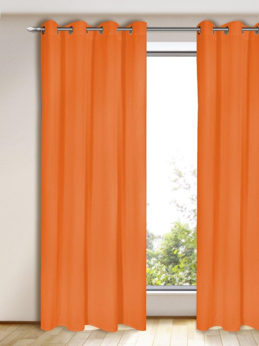 gardinen vorhang blickdicht orange gardinen outlet. Black Bedroom Furniture Sets. Home Design Ideas