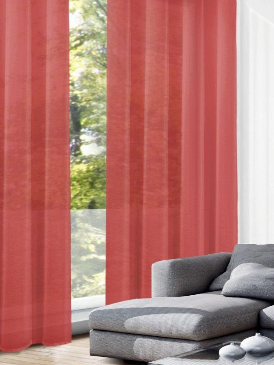 gardinen senschal rot crash g nstig kaufen gardinen outlet. Black Bedroom Furniture Sets. Home Design Ideas