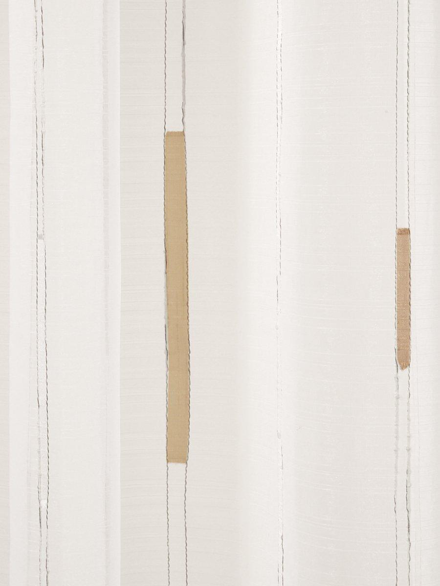 gardinen mit kr uselband elegant in elfenbein gardinen outlet. Black Bedroom Furniture Sets. Home Design Ideas